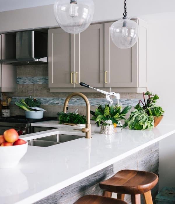 Faucet kitchen pic